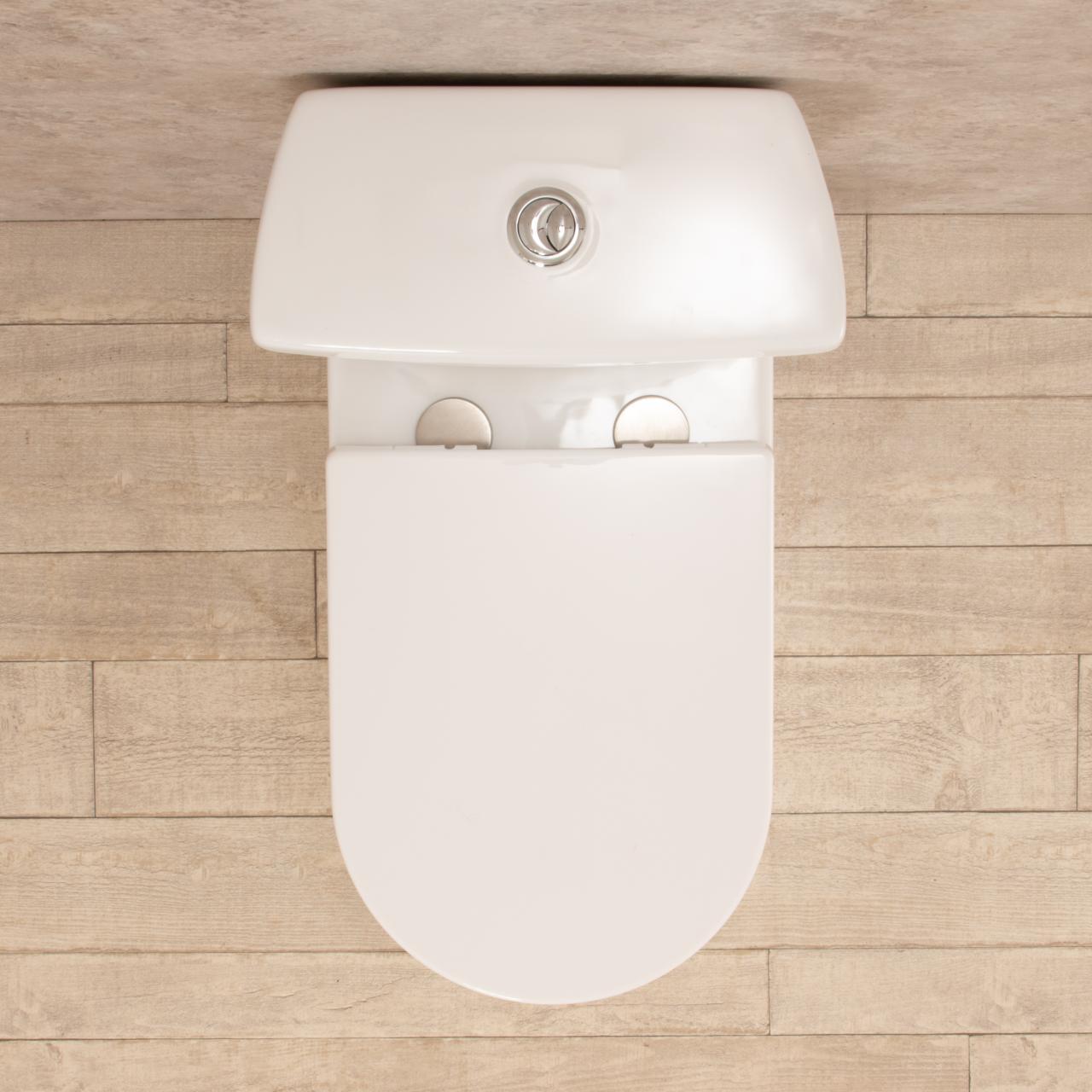WC con cassetta esterna Comfort e scarico a muro 2