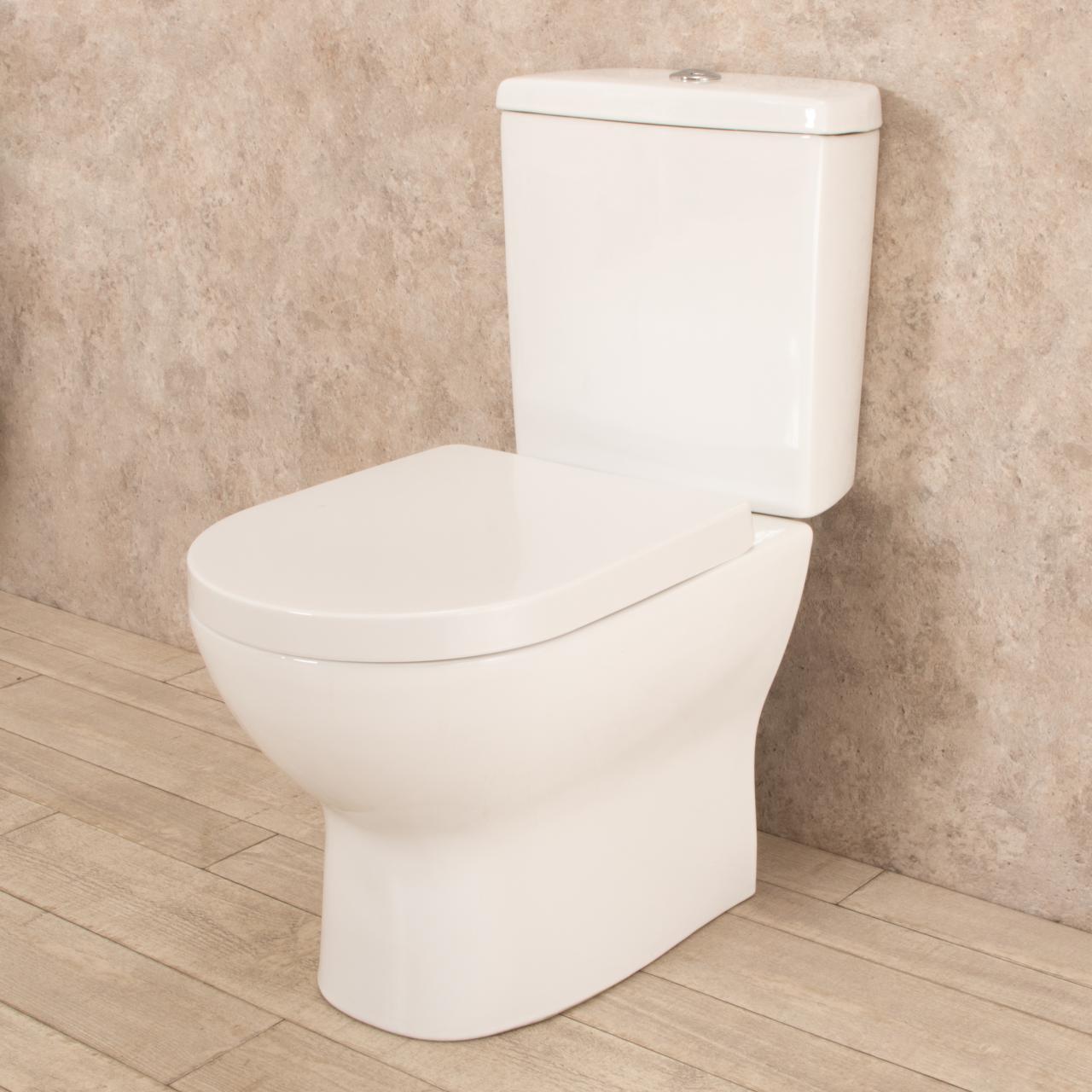 WC con cassetta esterna Comfort e scarico a muro 3